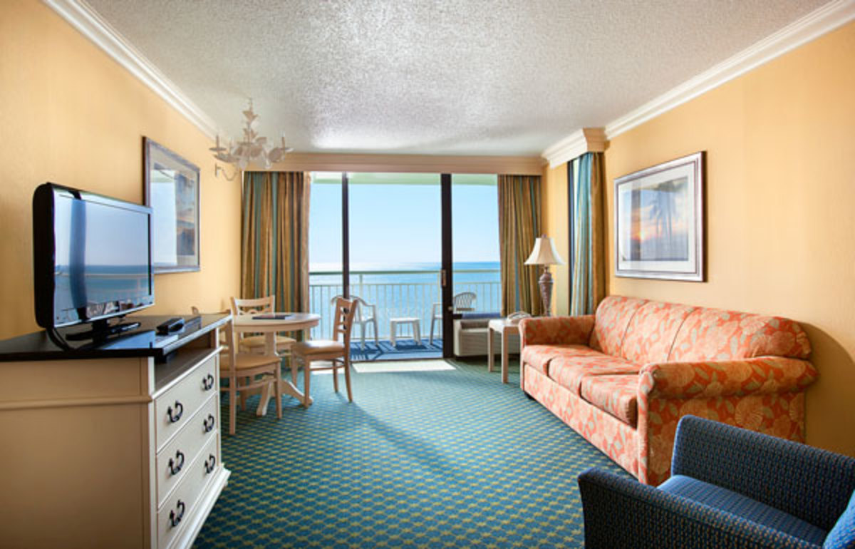 Myrtle Beach Coral Beach Resort Guest Room Photo