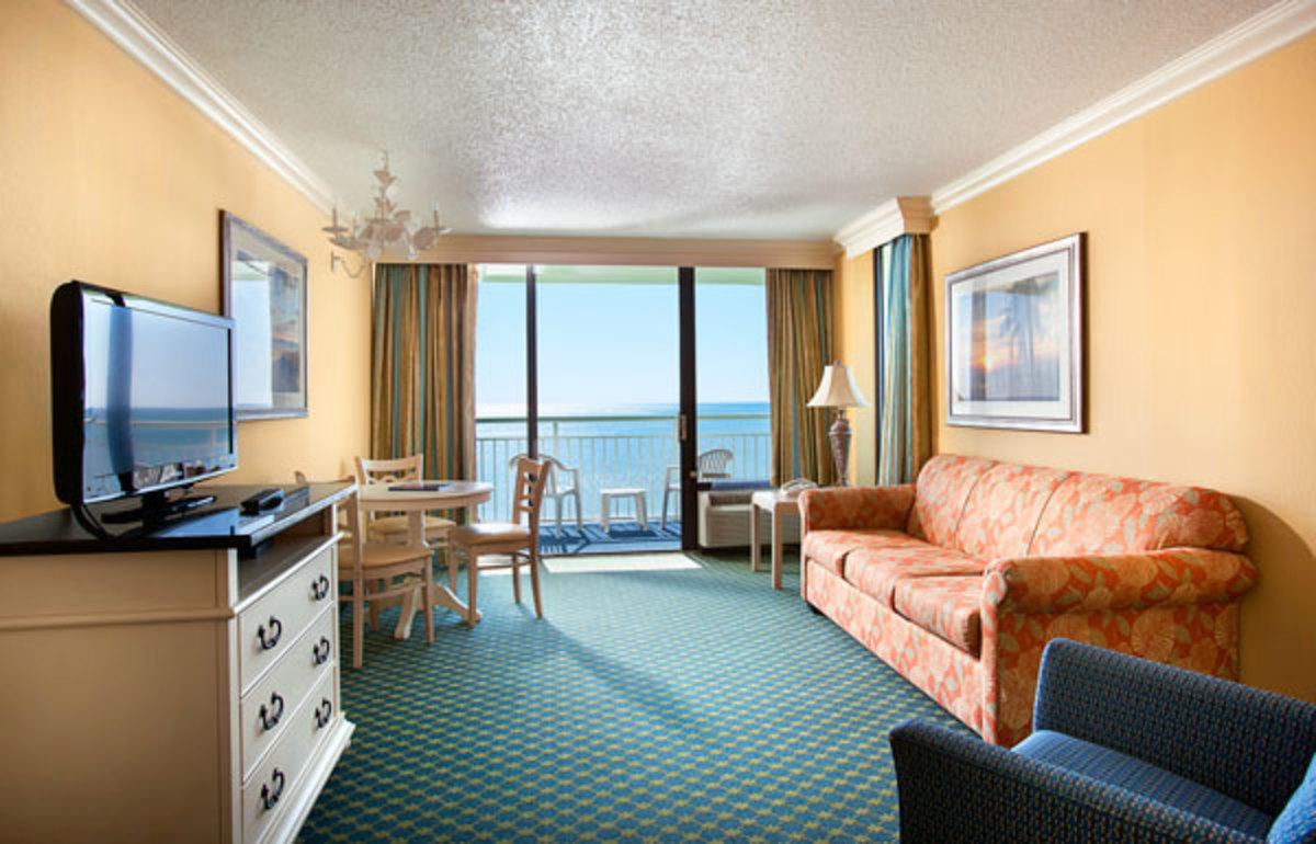 Myrtle Beach Coral Beach Resort Guest Room Photo
