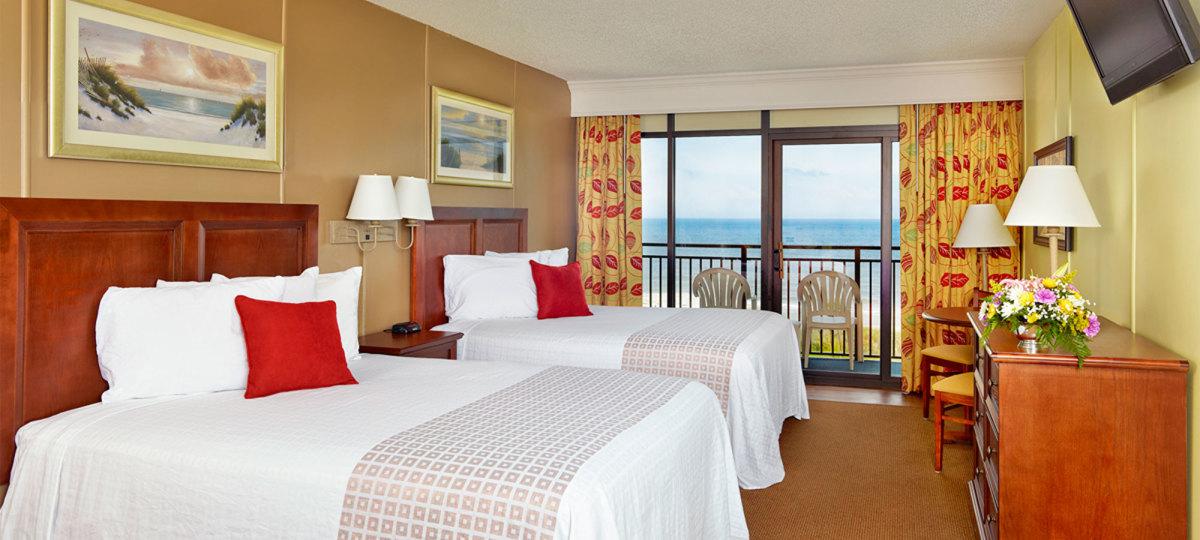 Springmaid Beach Resort Photo of Room in Myrtle Beach, South Carolina.
