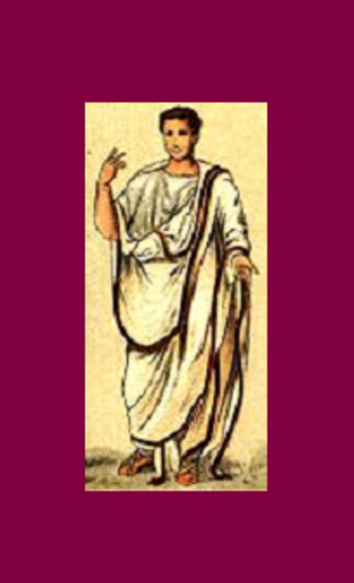 Toga of the Roman Senate