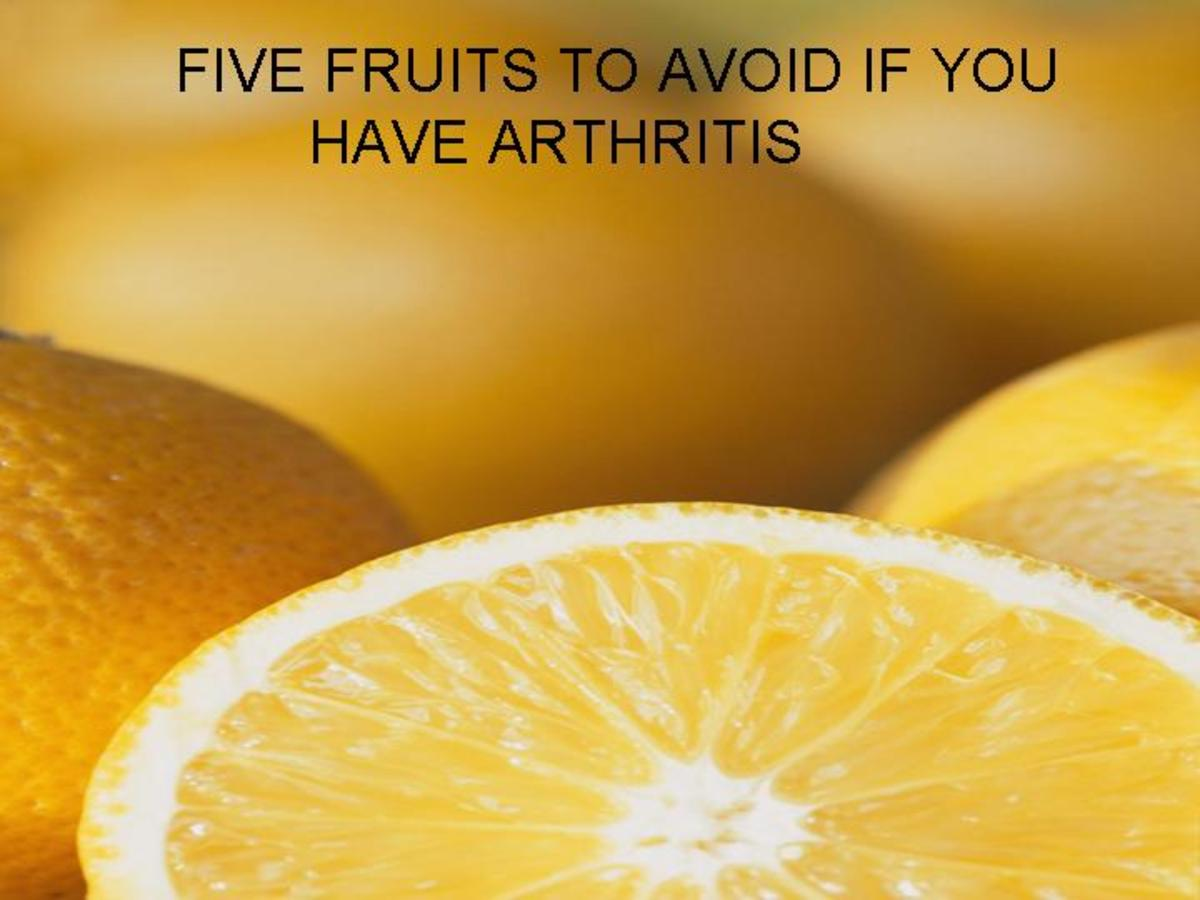 Fruits to avoid if you suffer from arthritis