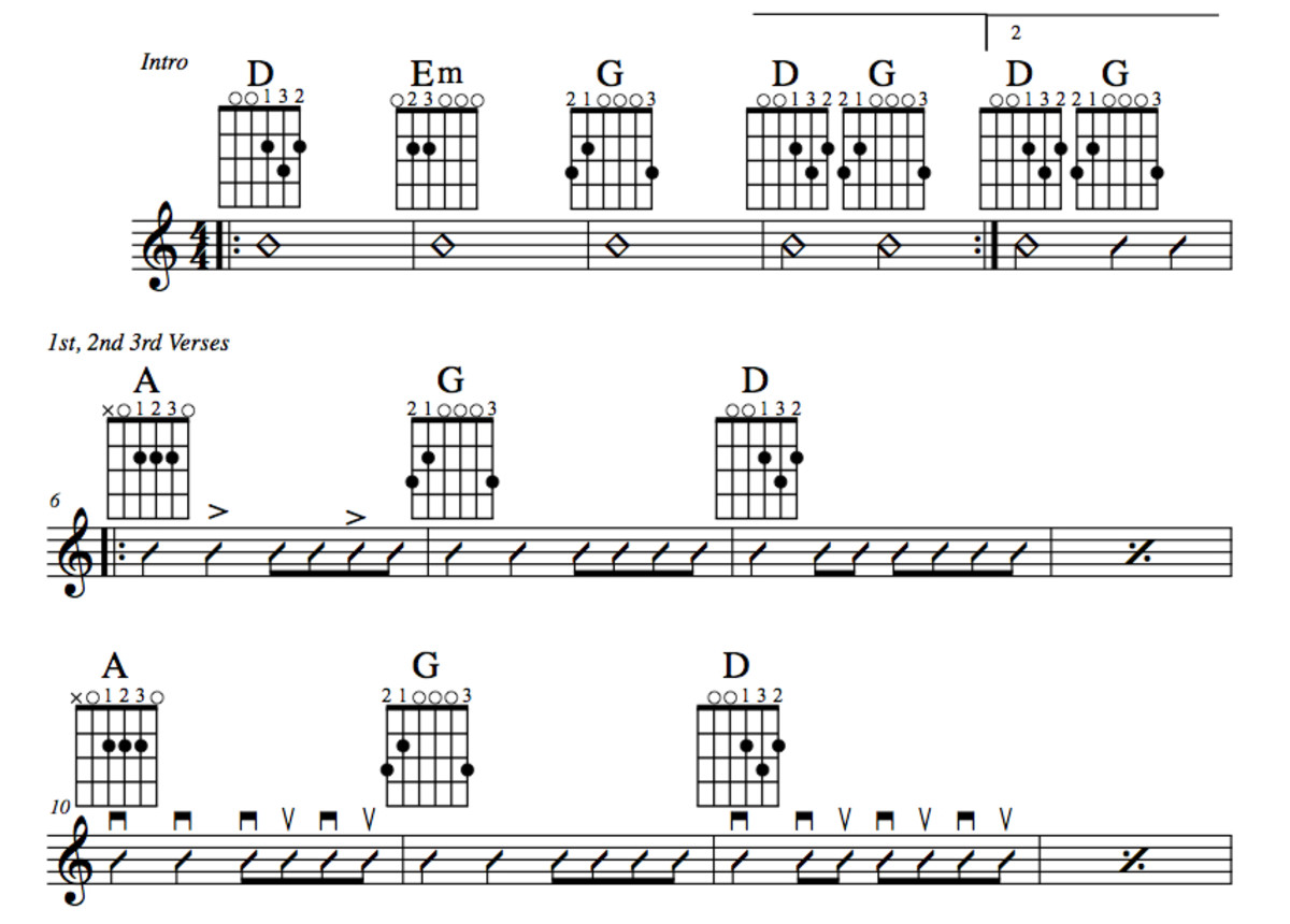 Easy Guitar Songs • Running On Faith (Eric Clapton) • Maggie May ...