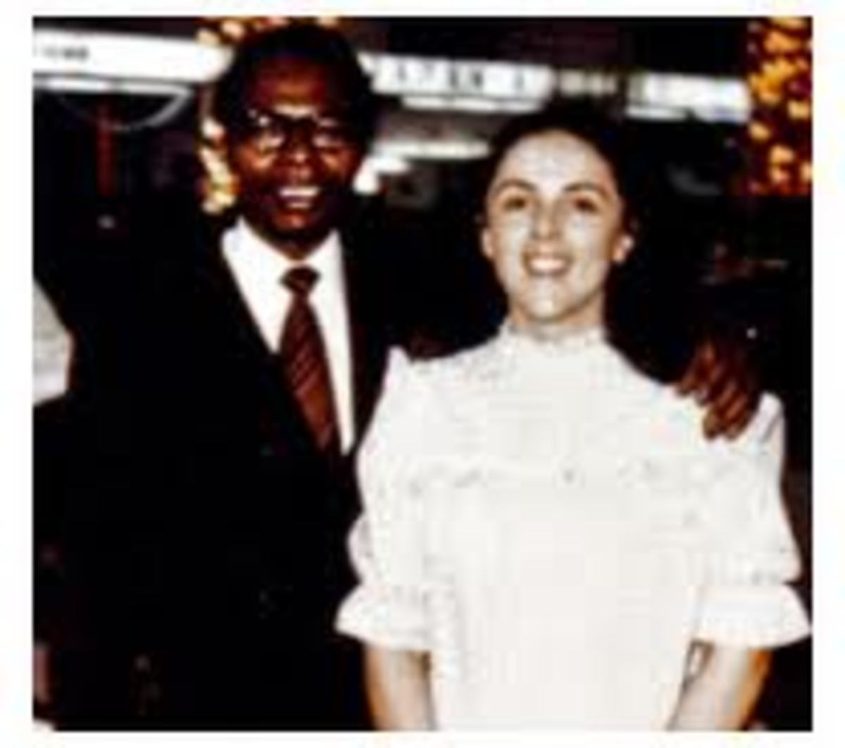 This is the couple that produced the first African-American President of US Barack Obama. He was elected President on November 4 2008. Barack Hussein Obama, a Kenyan met Stanley Ann Dunham whom he married in 1961 and divorced her 3 years later.