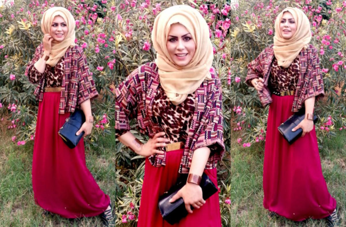 maxi skirt | Imaan Ali | Trendy hijabi stype