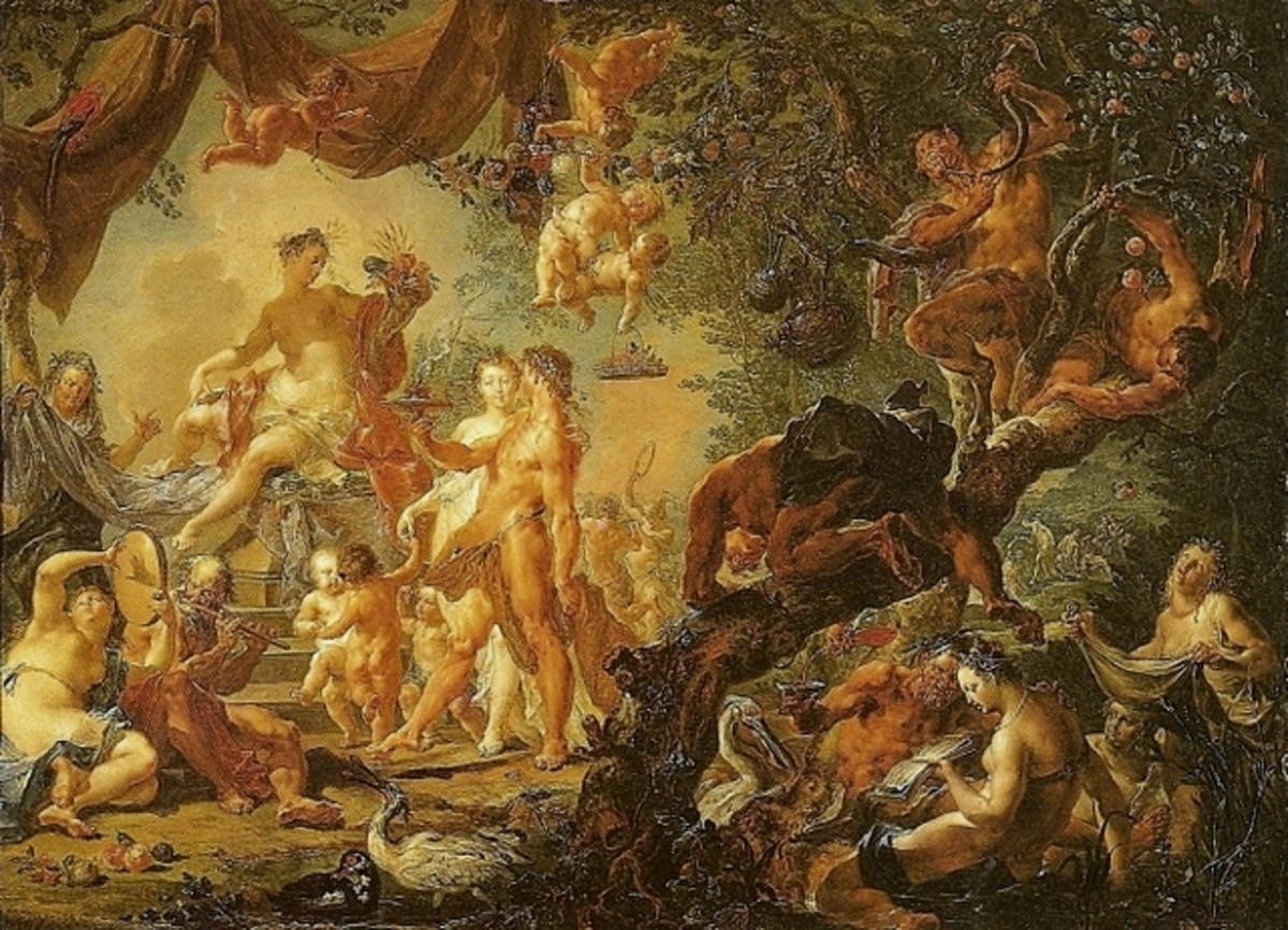 Marriage of Hephaestus and Aphrodite