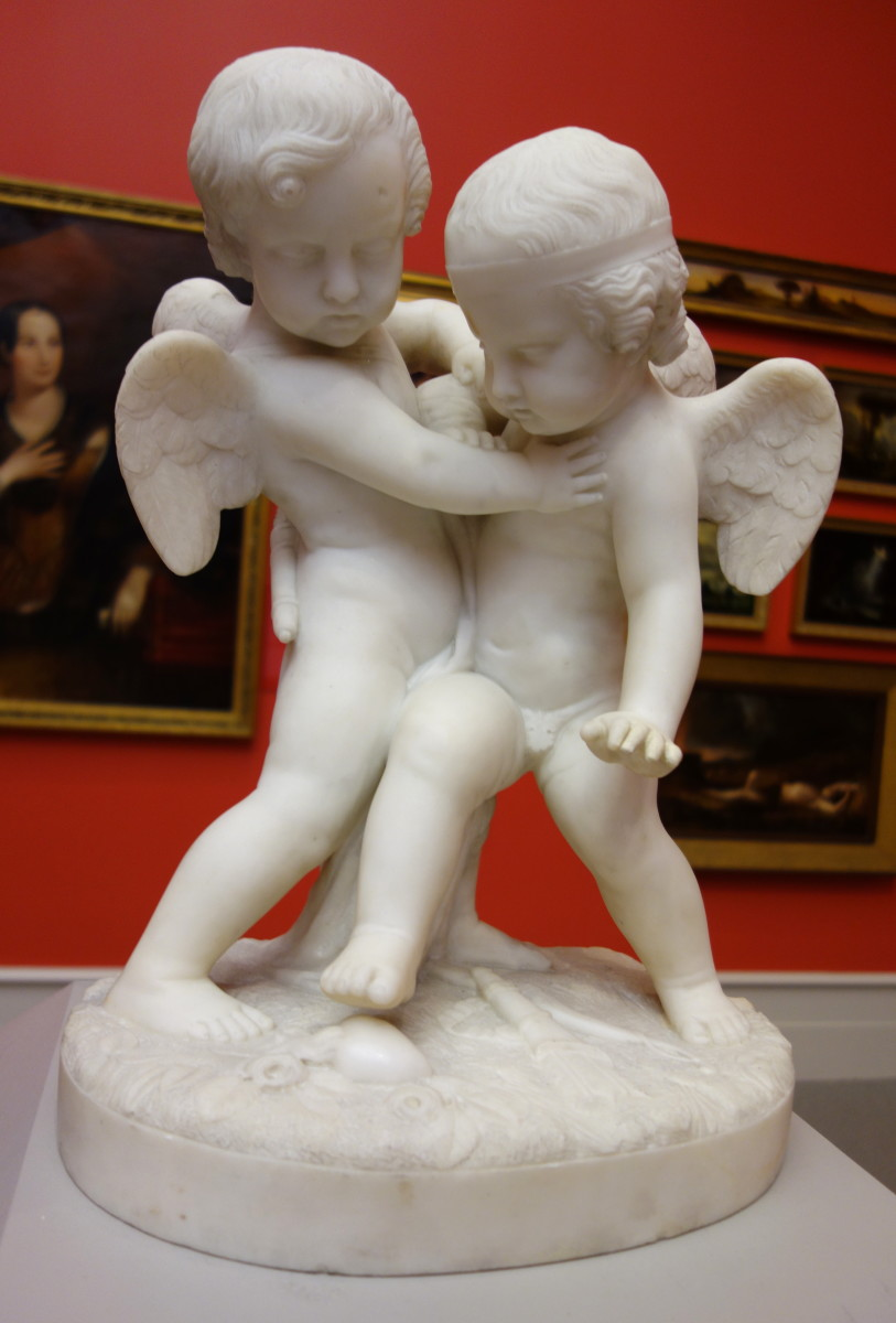 Fighting Cupids (Eros and Himeros)