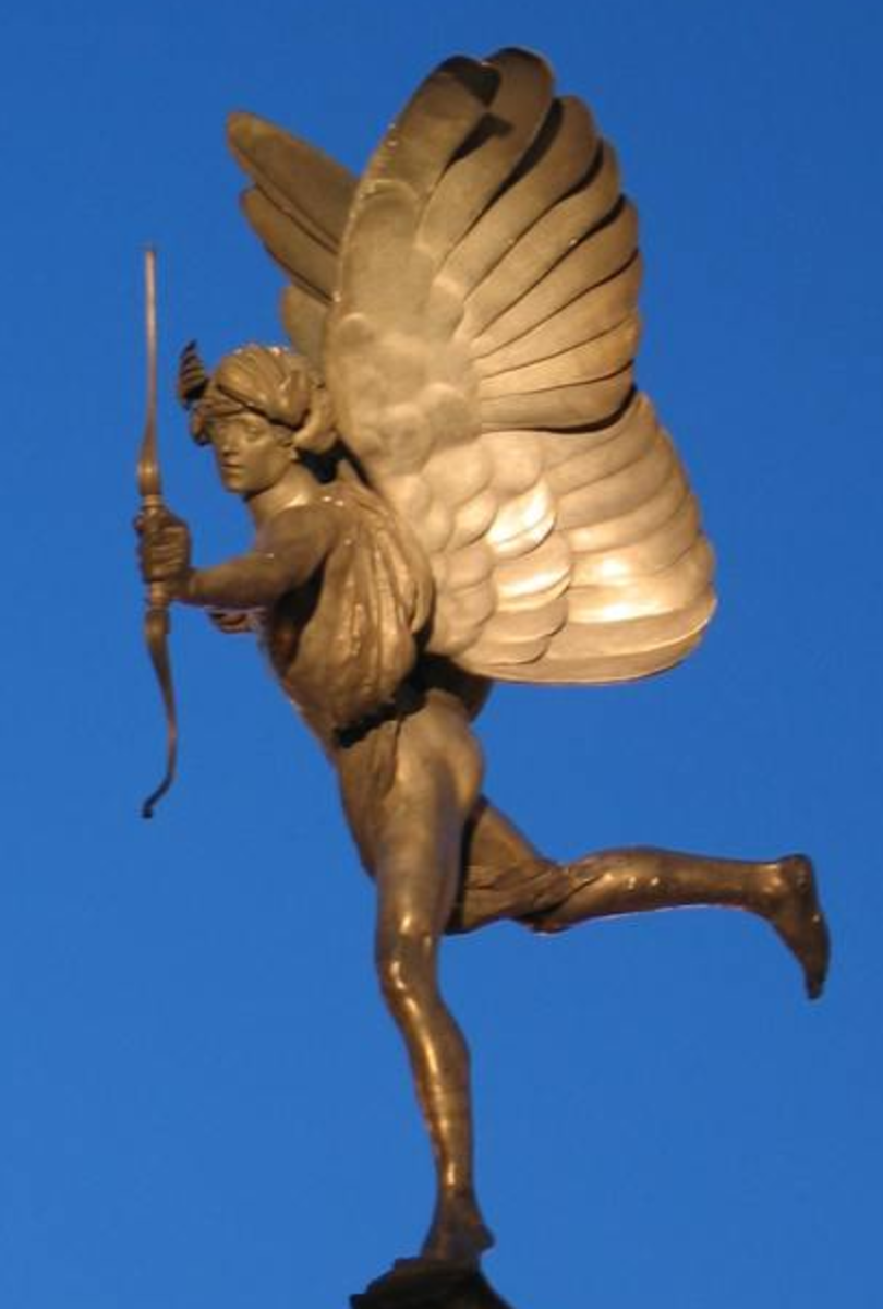 Anteros from Piccadilly Circus in London