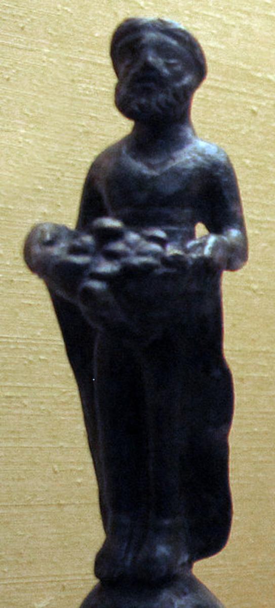 Priapus - son of Aphrodite and Dionysus