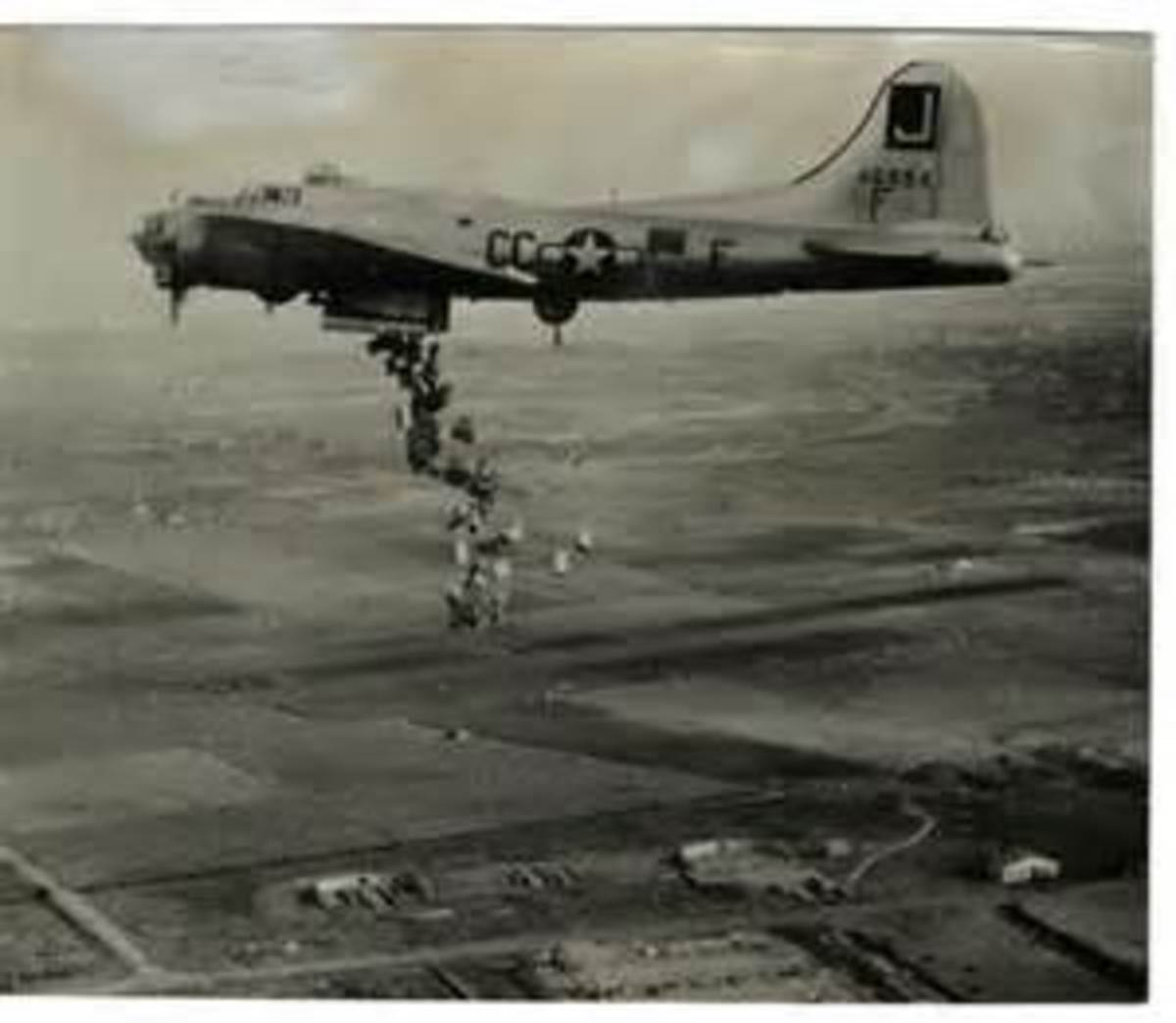 USAAF B25 Operation Chowhound