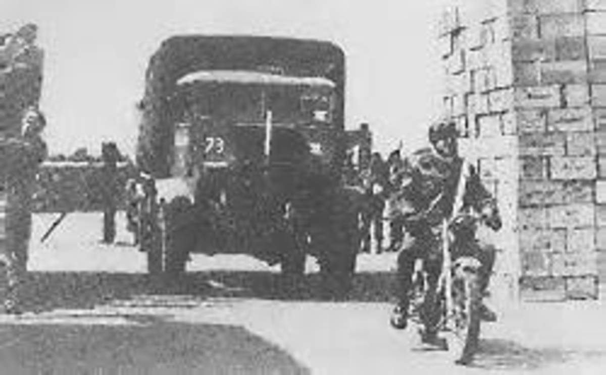 British trucks operation Faust