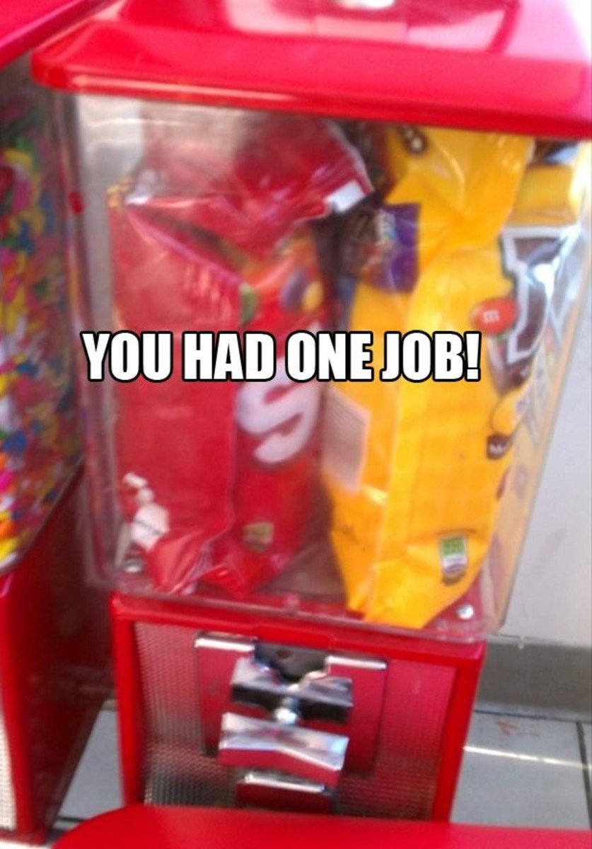 """You Had One Job"" Memes 