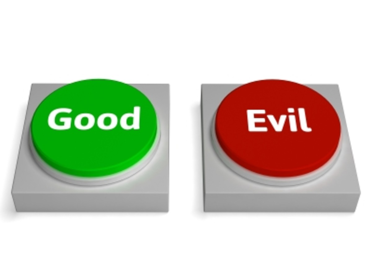 Teaching Children about What is Good and Evil will help them to live life more fully and authentically. Raine Law Yuen..