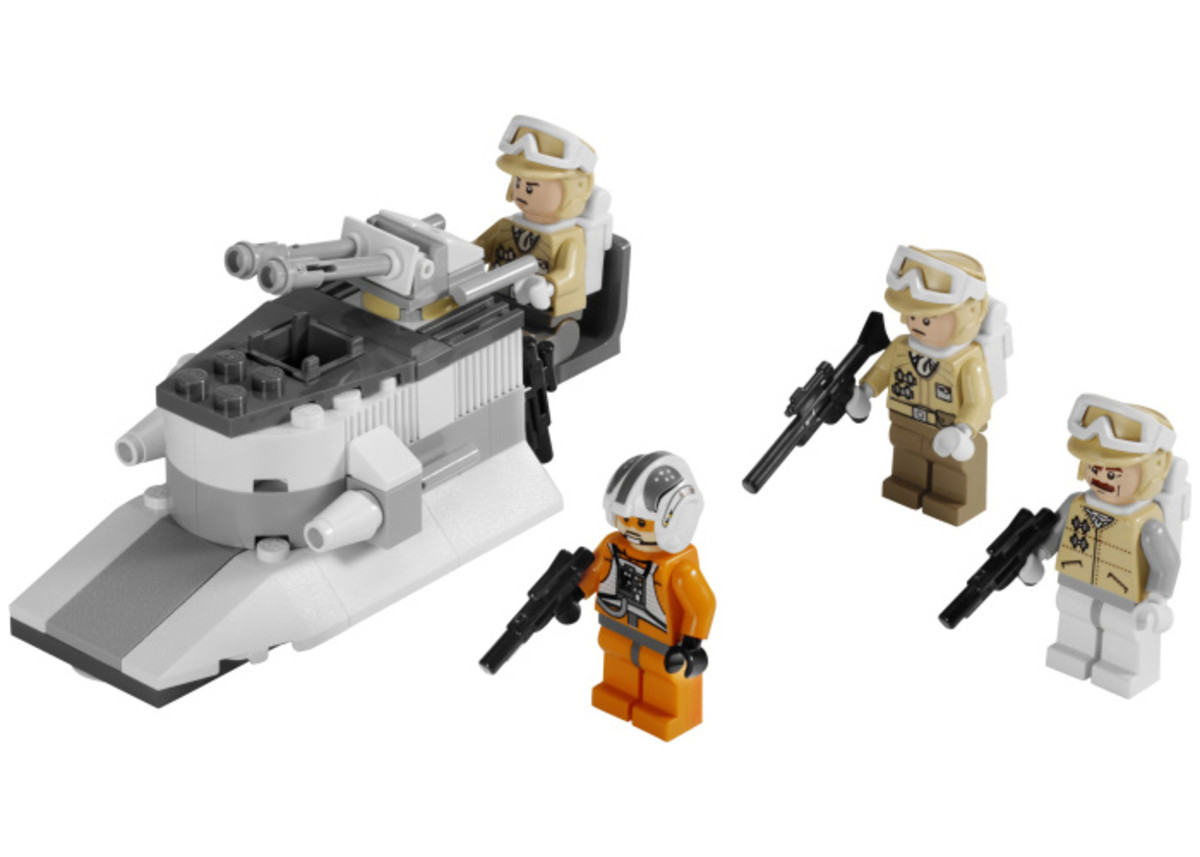 LEGO Star Wars Rebel Trooper Battle Pack 8083 Assembled