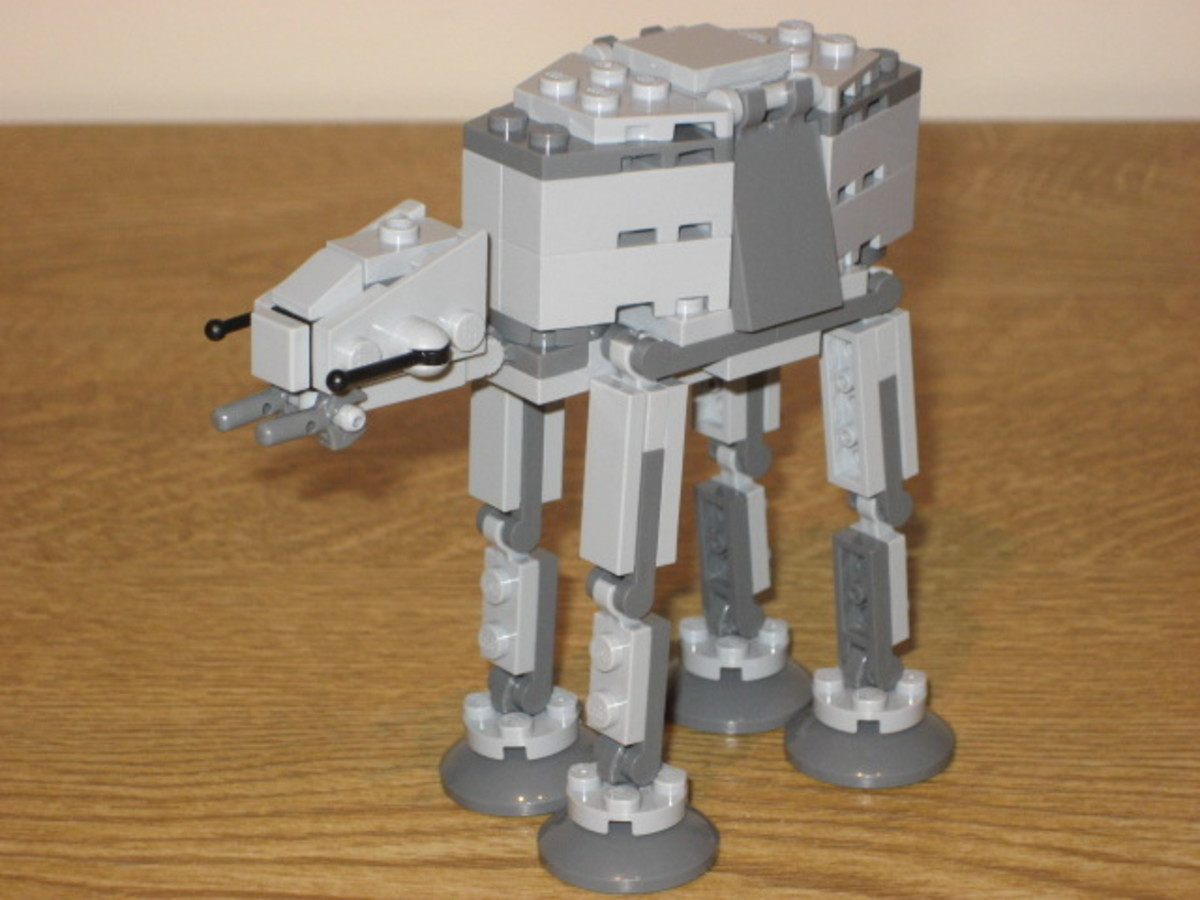 LEGO Star Wars AT-AT Walker 20018 Assembled