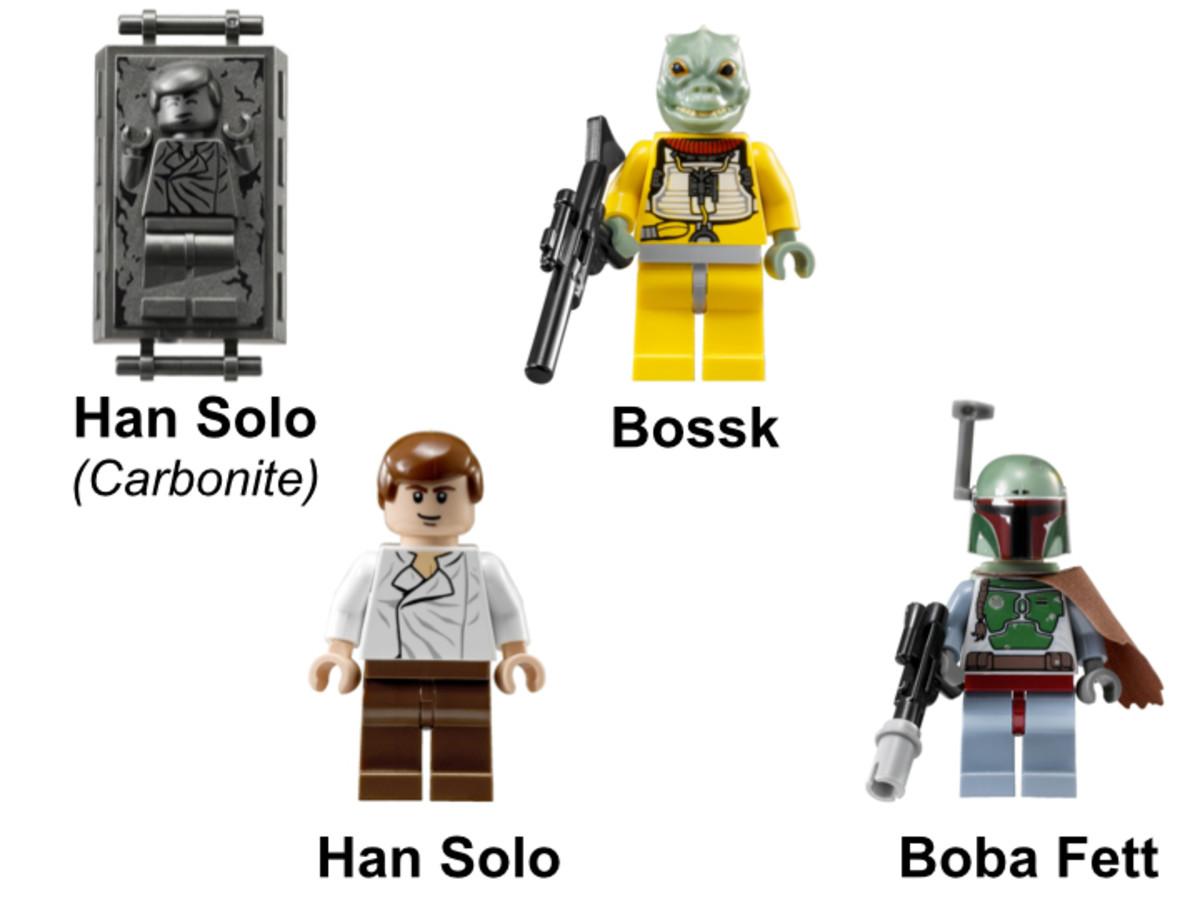 LEGO Star Wars Slave I 8097 Minifigures