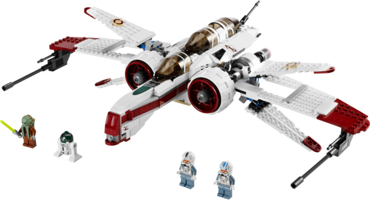 LEGO Star Wars ARC-170 Starfighter 8088 Assembled