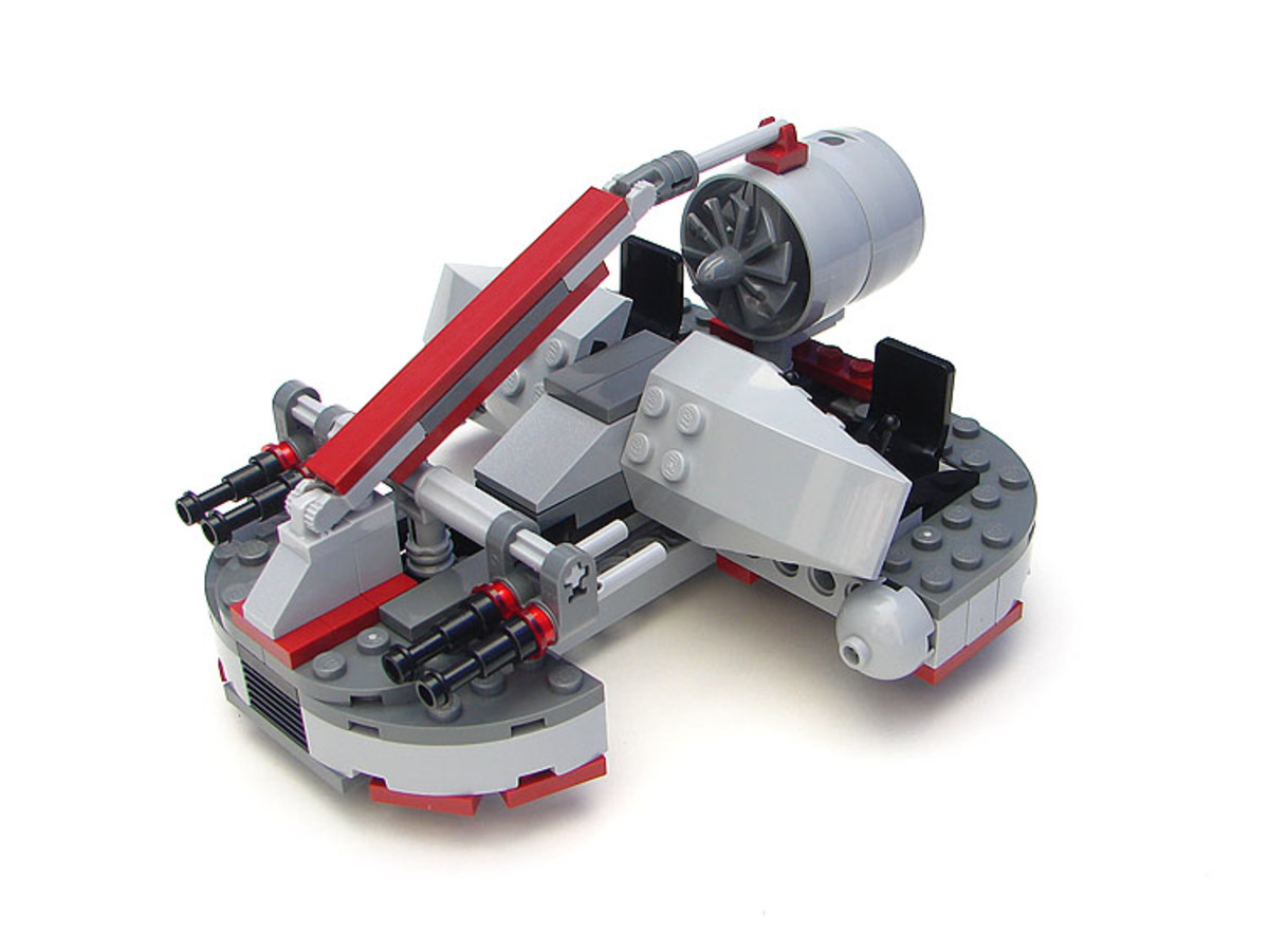 LEGO Star Wars Republic Swamp Speeder 8091 Assembled