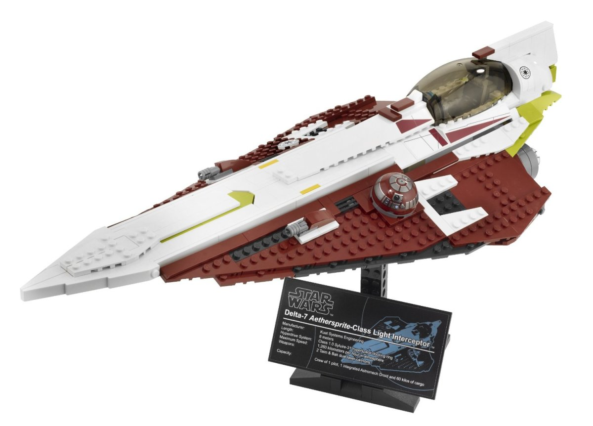 LEGO Star Wars Obi-Wan's Jedi Starfighter 10215 Assembled