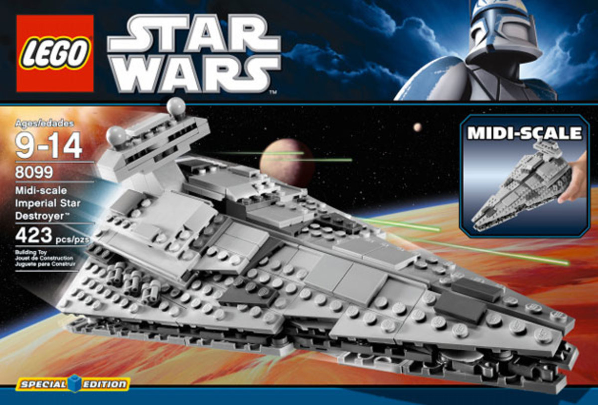 LEGO Star Wars Imperial Star Destroyer Midi-Scale 8099 Box