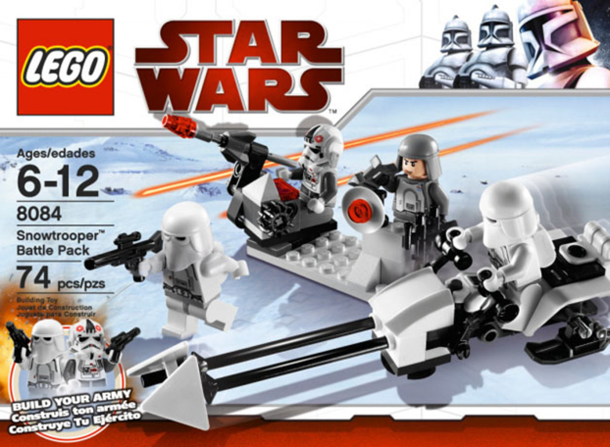 LEGO Star Wars Snowtrooper Battle Pack 8084 Box