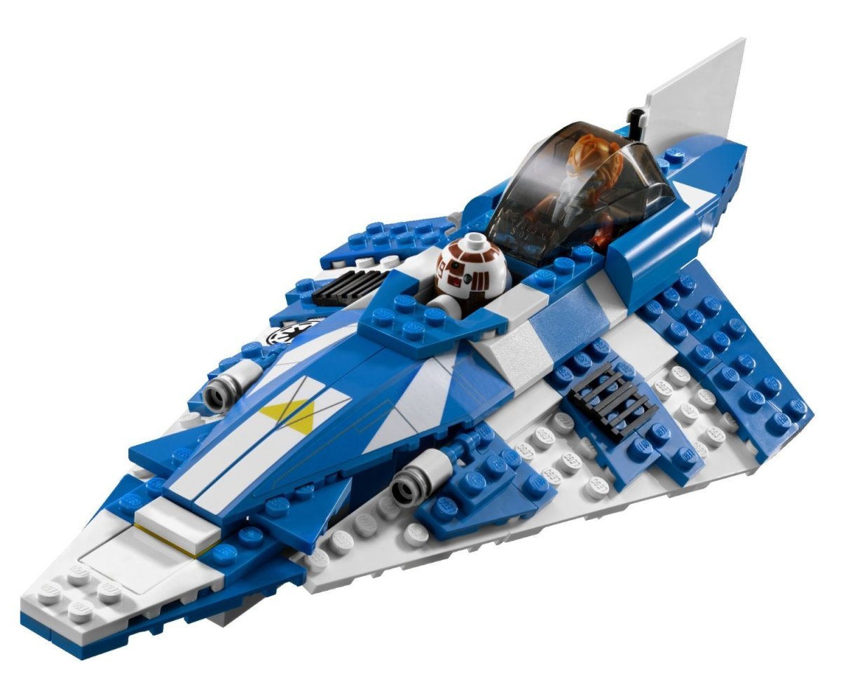 LEGO Star Wars Plo Koon's Starfighter 8093 Assembled