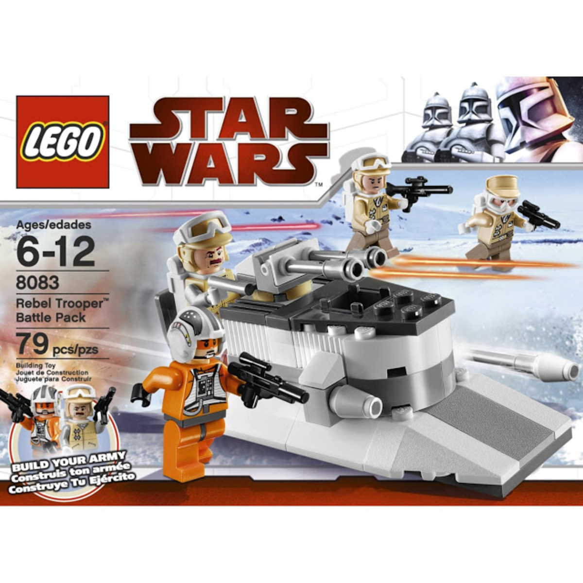LEGO Star Wars Rebel Trooper Battle Pack 8083 Box