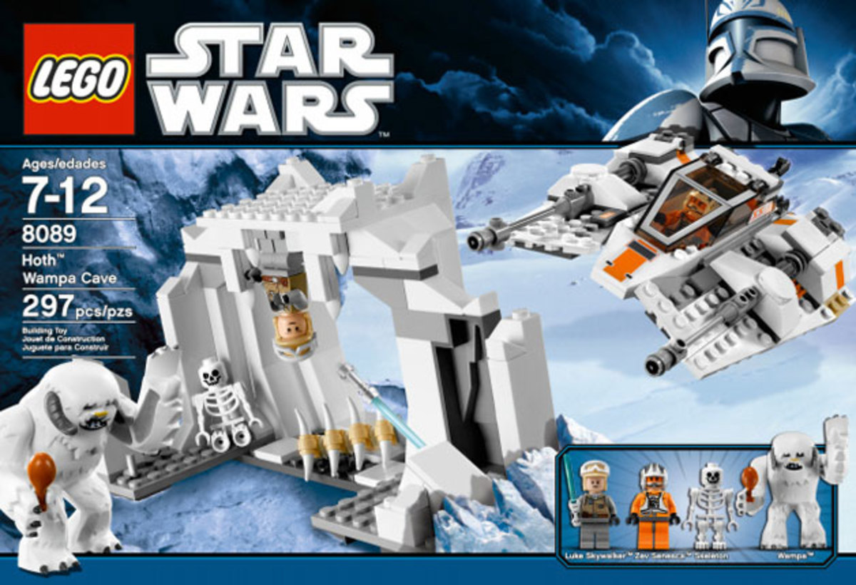 LEGO Star Wars Hoth Wampa Cave 8089 Box