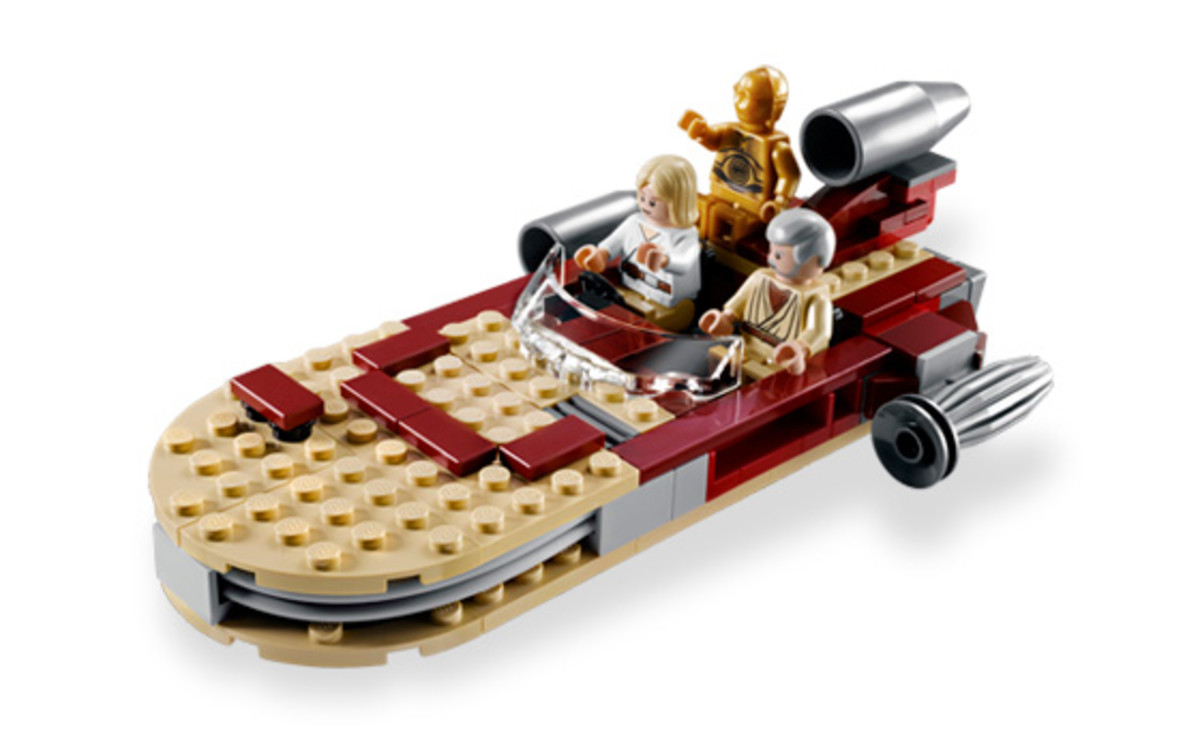 LEGO Star Wars Luke's Landspeeder 8092 Assembled