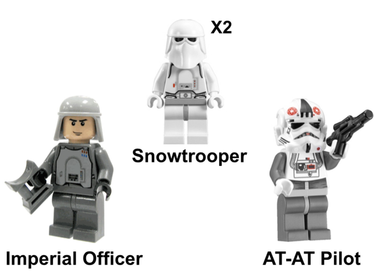 LEGO Star Wars Snowtrooper Battle Pack 8084 Minifigures