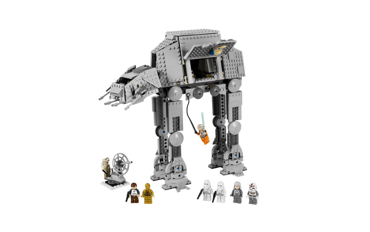 LEGO Star Wars AT-AT Walker 8129 Assembled