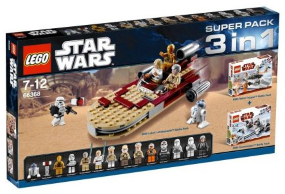 LEGO Star Wars 3 In 1 Super Packs #66368 Box