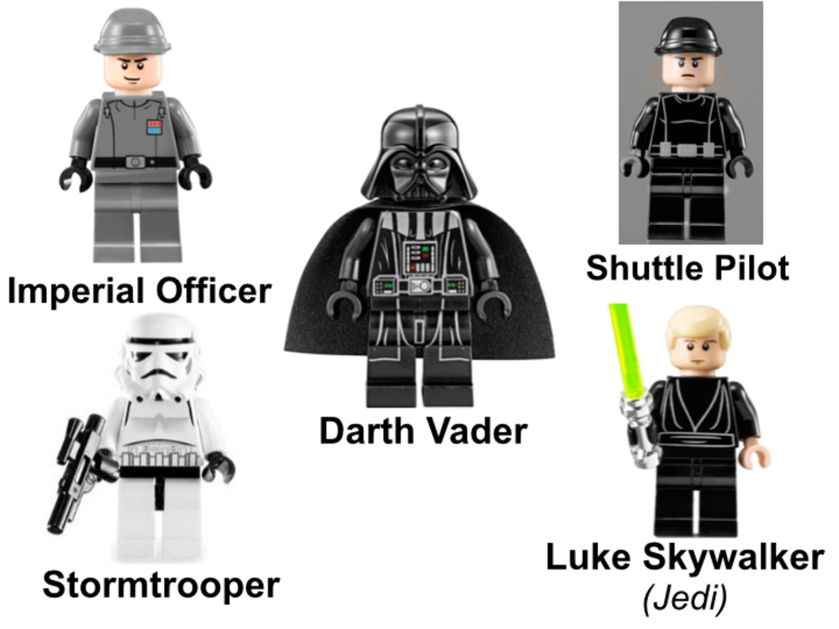 LEGO Star Wars Imperial Shuttle 10212 Minifigures