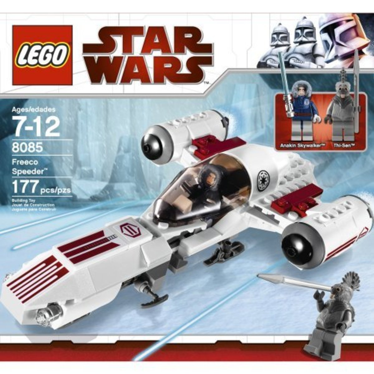 LEGO Star Wars Freeco Speeder 8085 Box