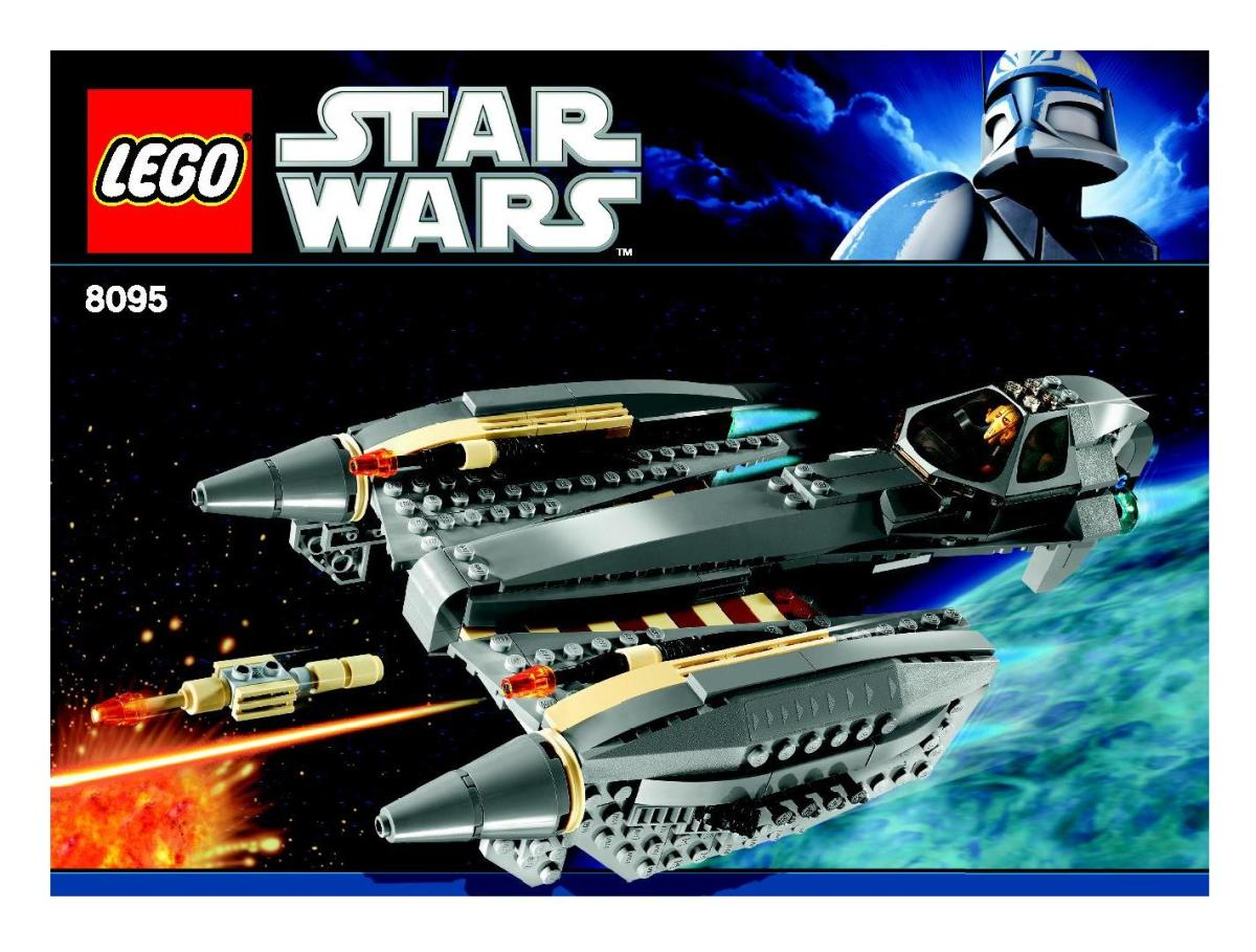 LEGO Star Wars General Grievous Starfighter 8095 Box