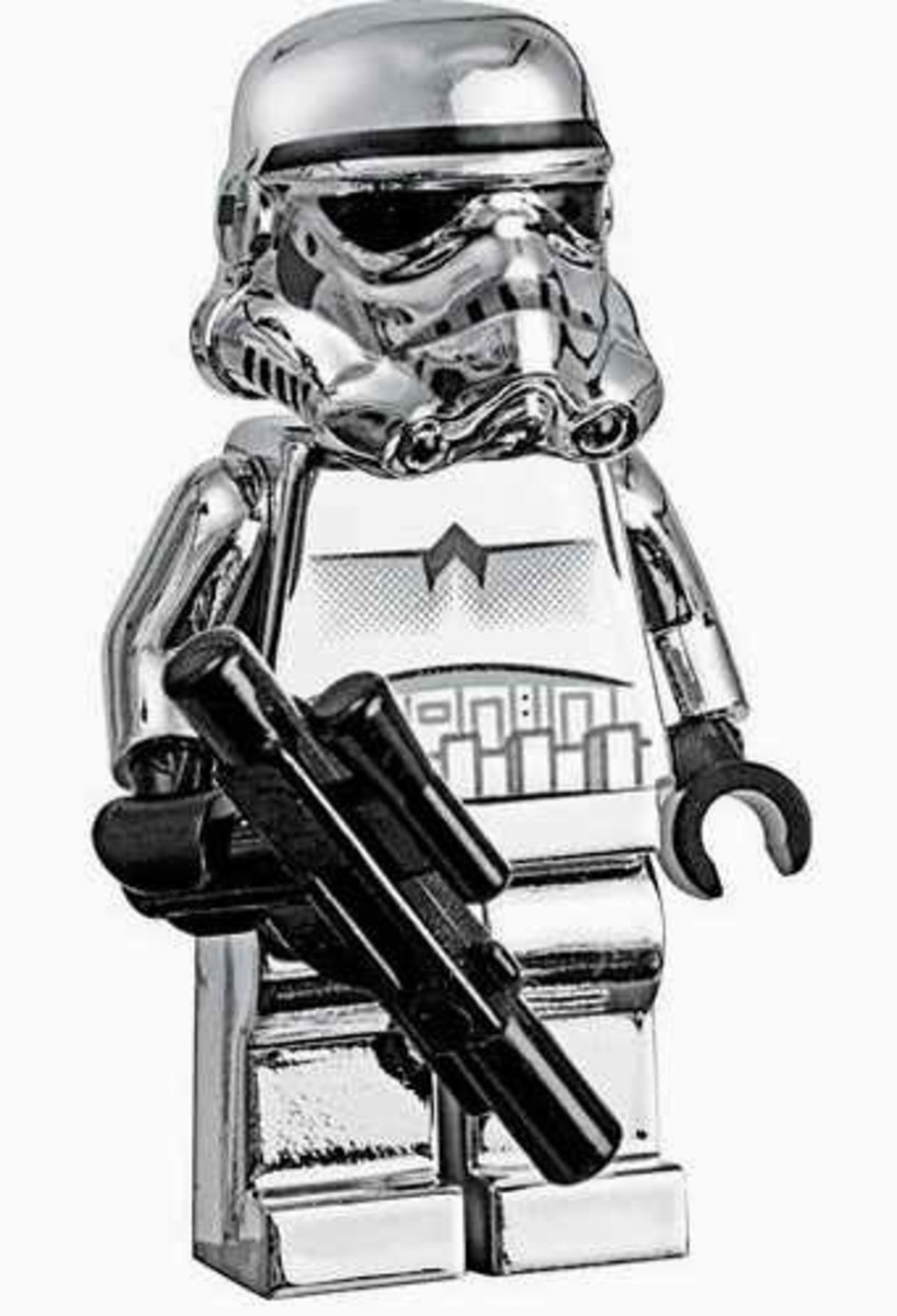 LEGO Star Wars Stormtrooper Chrome 2853590 Minifigure