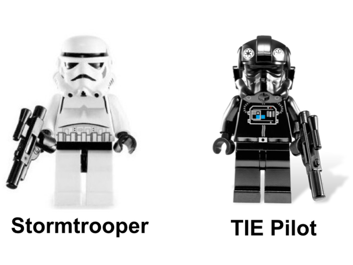 LEGO Star Wars TIE Defender 8087 Minifigures
