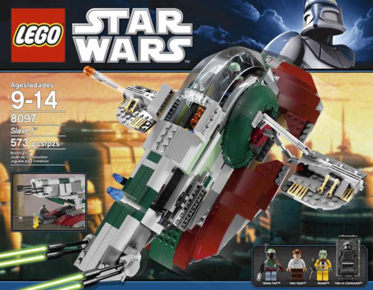 LEGO Star Wars Slave I 8097 Box