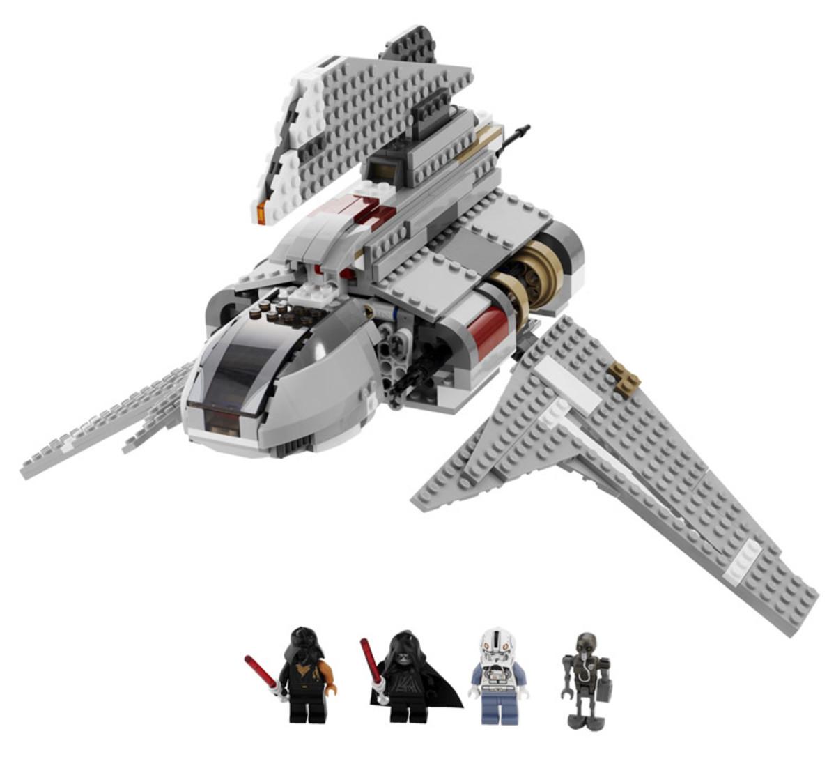 LEGO Star Wars Emperor Palpatine's Shuttle 8096 Assembled