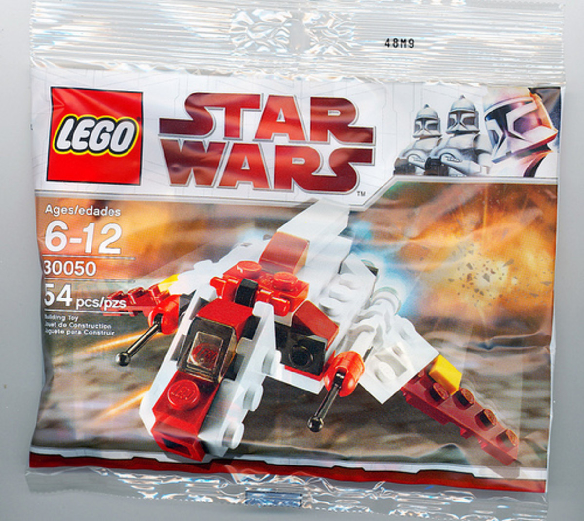 LEGO Star Wars Republic Attack Shuttle 30050 Bag