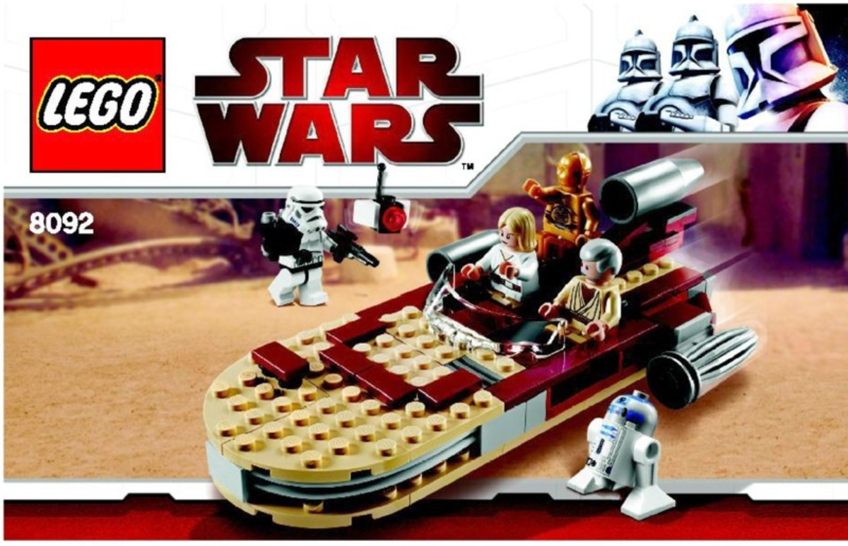 LEGO Star Wars Luke's Landspeeder 8092 Box