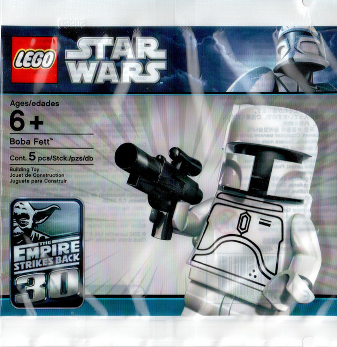 LEGO Star Wars White Boba Fett Minifigure 2853835 Bag