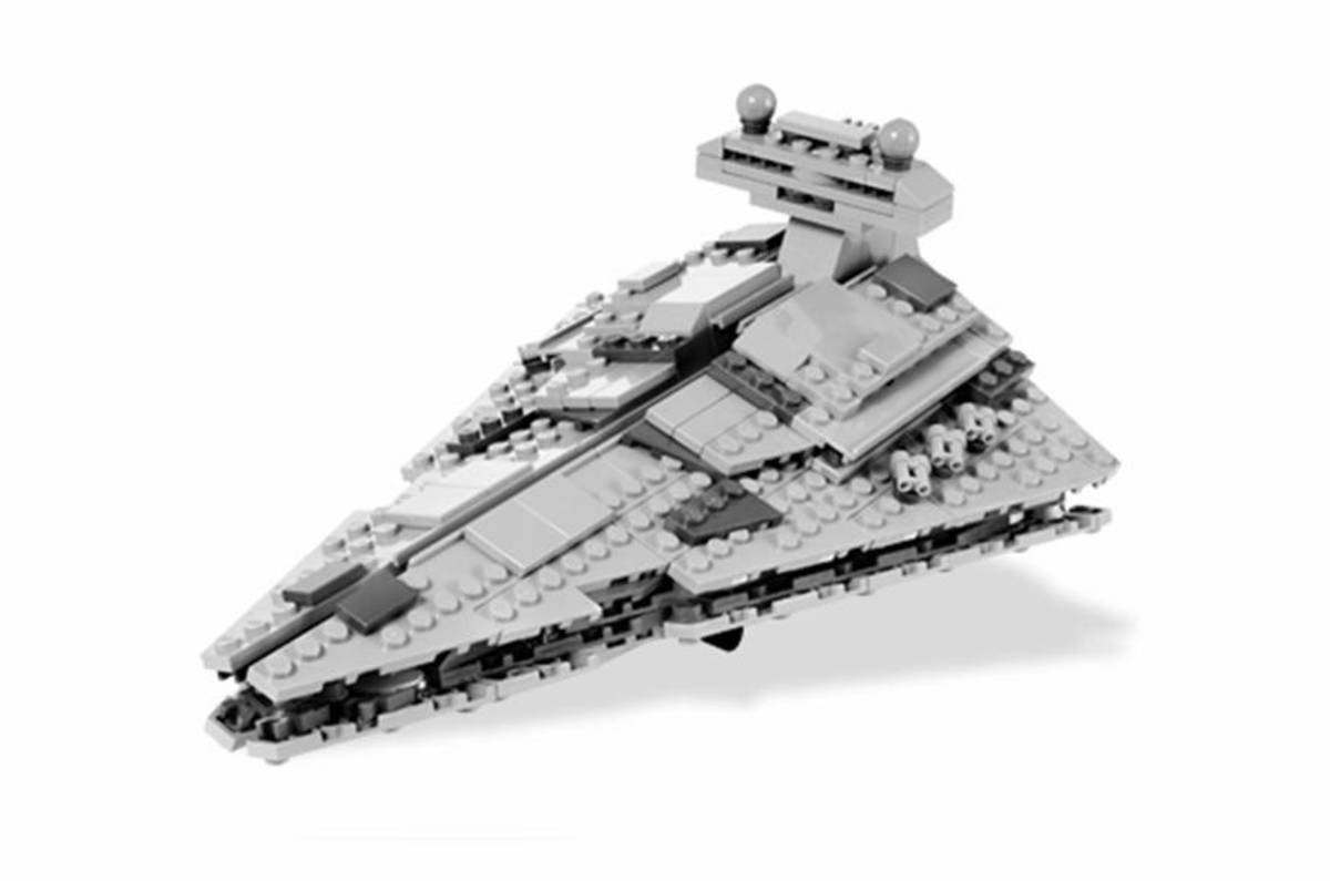 LEGO Star Wars Imperial Star Destroyer Midi-Scale 8099 Assembled