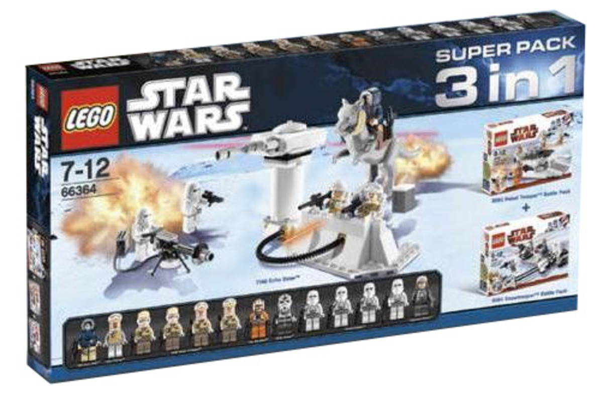 LEGO Star Wars 3 In 1 Super Packs #66364 Box