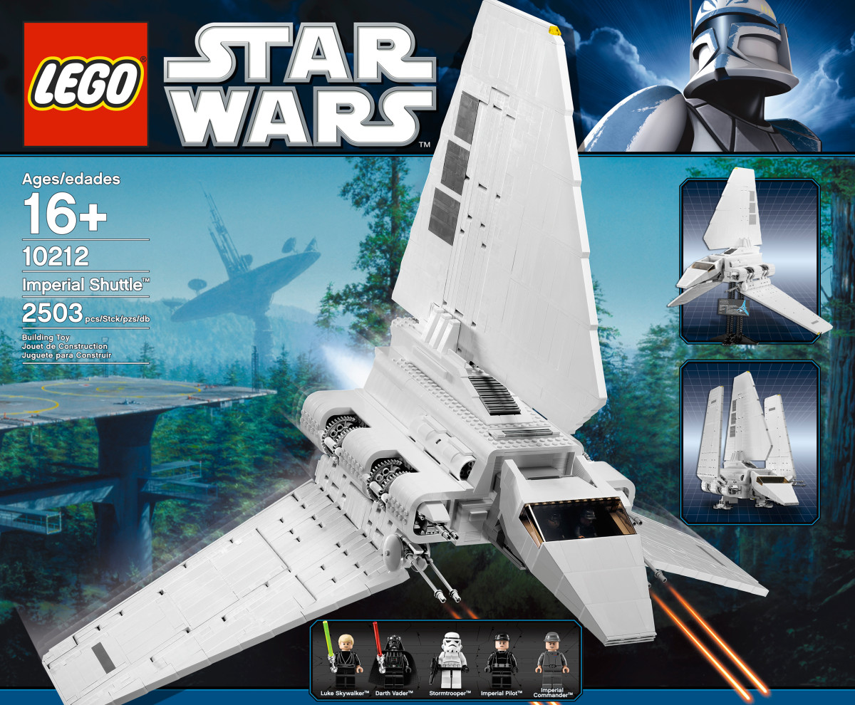 LEGO Star Wars Imperial Shuttle 10212 Box