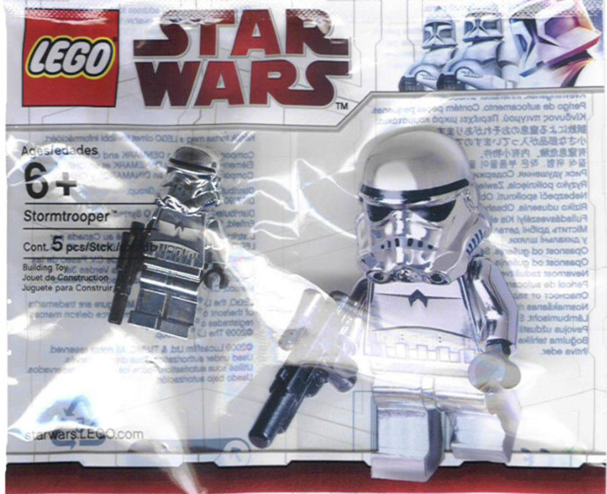 LEGO Star Wars Stormtrooper Chrome 2853590 Minifigure Bag