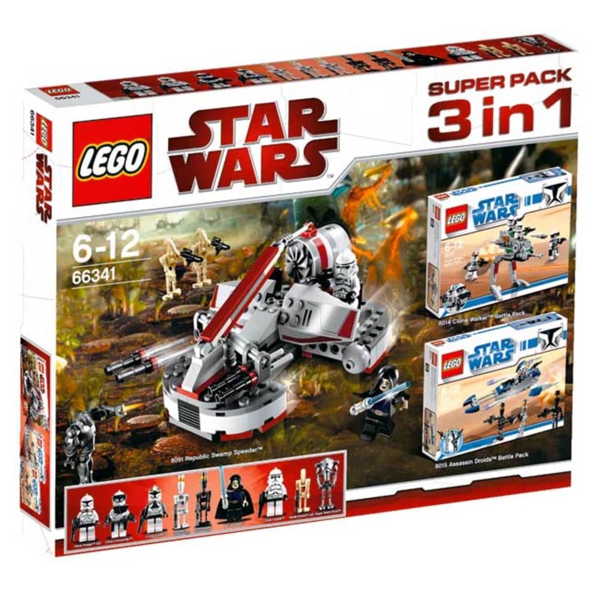 LEGO Star Wars 3 In 1 Super Packs #66341 Box
