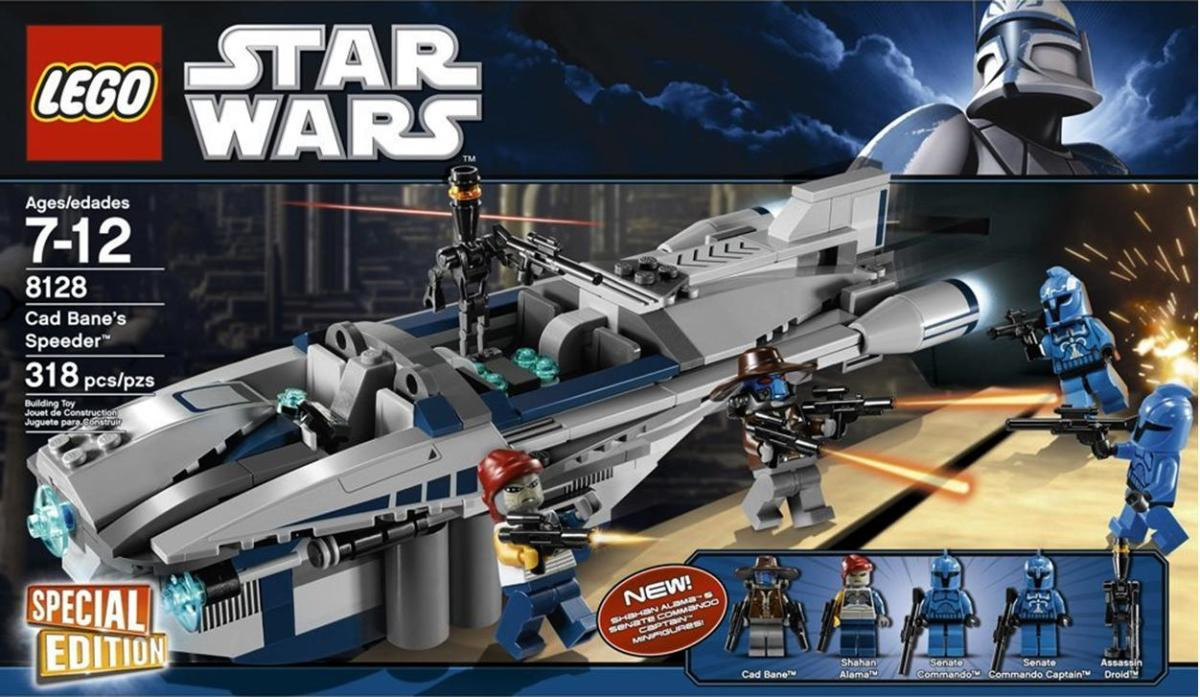 LEGO Star Wars Cad Bane's Speeder 8128 Box