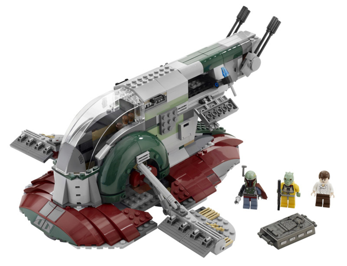 LEGO Star Wars Slave I 8097 Assembled