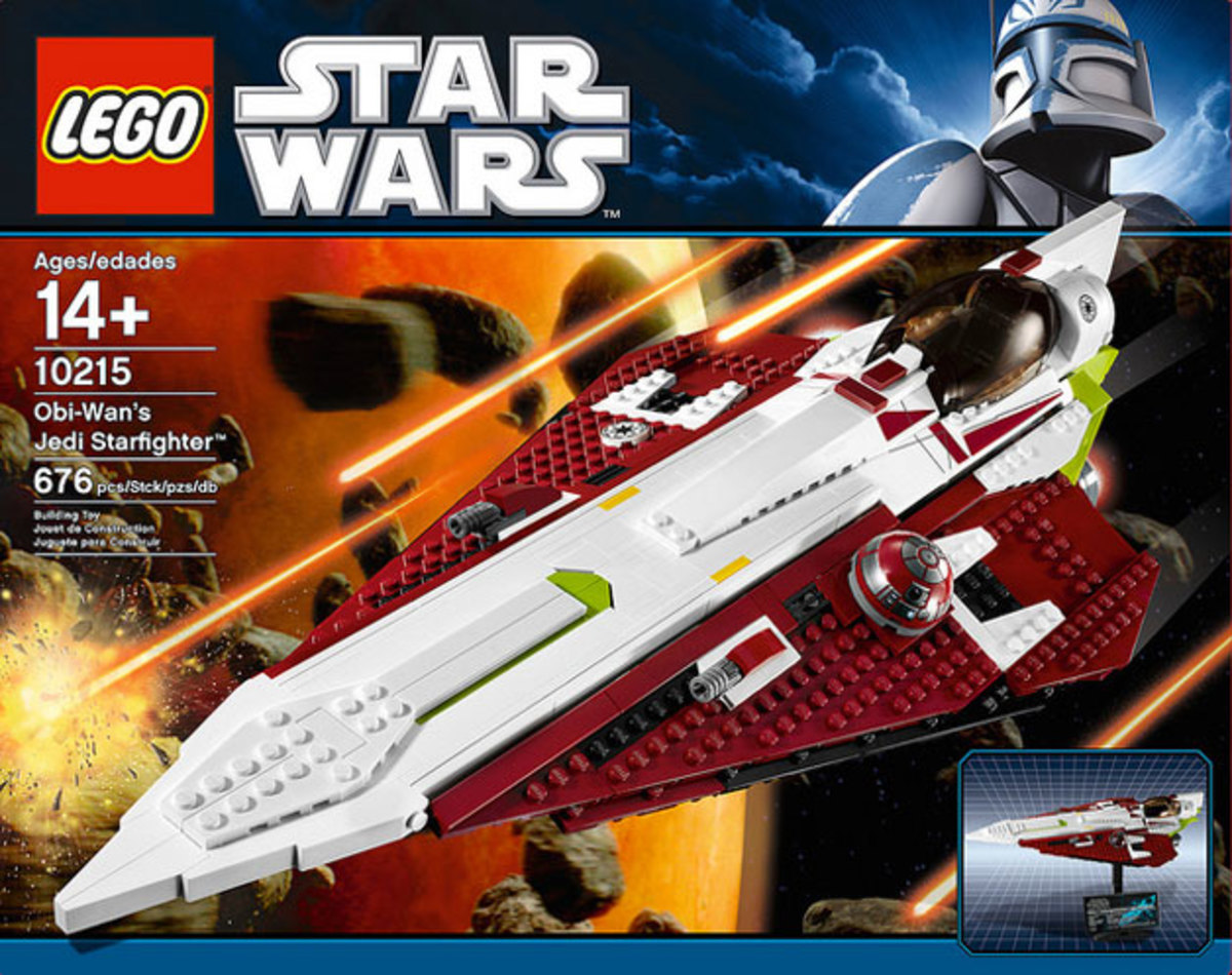 LEGO Star Wars Obi-Wan's Jedi Starfighter 10215 Box