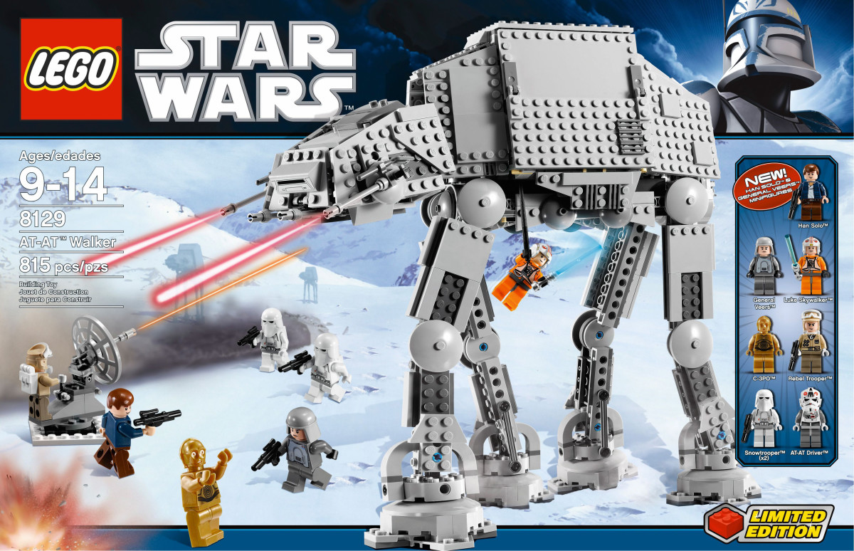 LEGO Star Wars AT-AT Walker 8129 Box